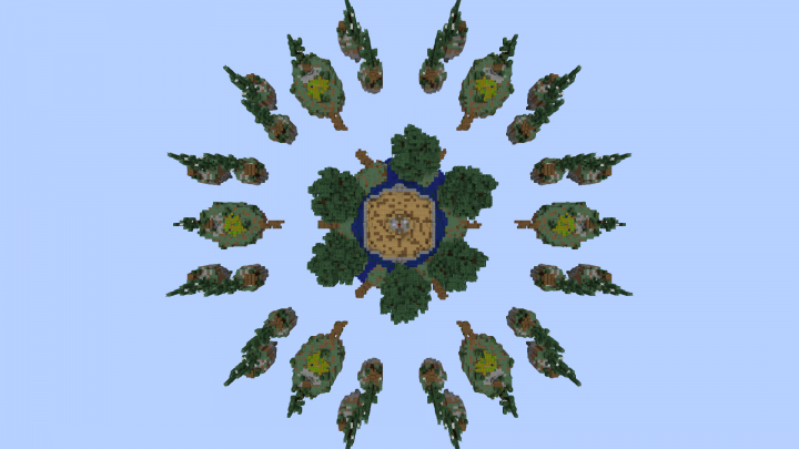 Map from above without shaders