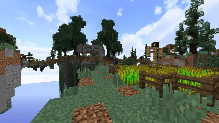 Medium island without shaders