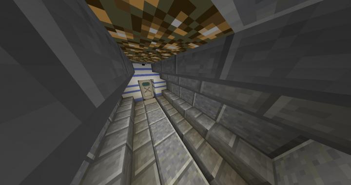Hallway to Lift B-1