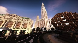 Golden Circle & Municipal Square | New Limesville City | State of New Limesville | United Citrus States Minecraft Map & Project