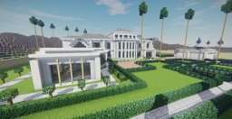 Famous Mansion Beverly Hills (Los Angeles) Minecraft Map & Project