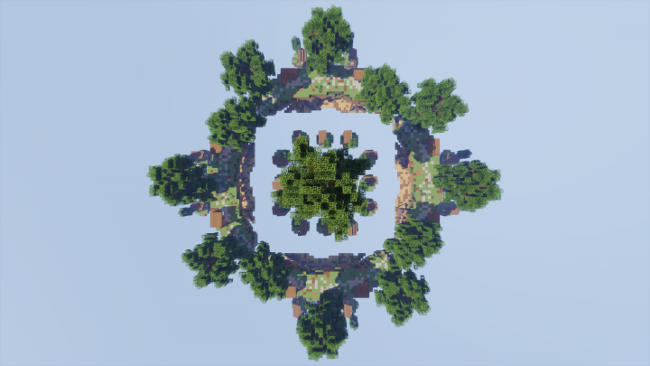 Map from above