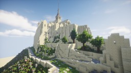 The Mont Saint Michel - 1/1 scale reproduction Minecraft Map & Project