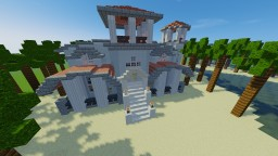 mediterranean villa (modded 1.12.2) Minecraft Map & Project