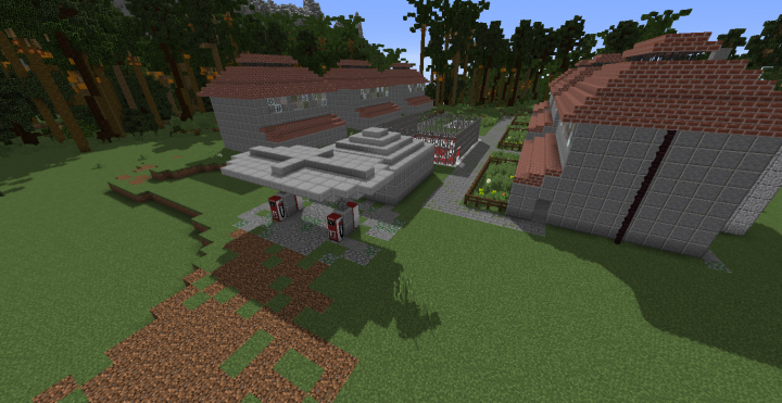 Site-B worker village