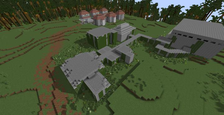 Site-B lab and worker village