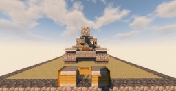 Germany WW2 MINECRAFT | Panzerjäger Tiger Ausf. B Minecraft Map & Project