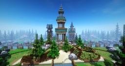 HCF map [Fantasy] 1500x1500 Minecraft Map & Project