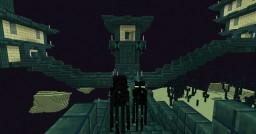 Green End Cities & Old Enderman Eyes Minecraft Texture Pack