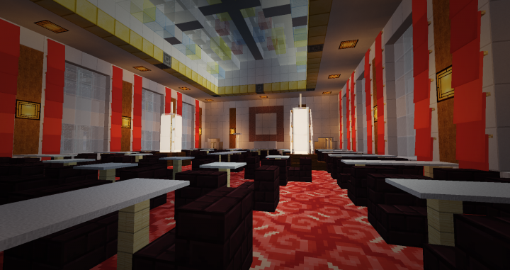 cabin class dining saloon