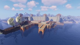 Medieval Port Minecraft Project Minecraft Map