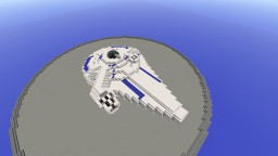 Millennium Falcon (Lando Calrissian) | YT-1300 Freighter Minecraft Map & Project