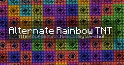 Alternate Rainbow TNT Add-On pack Minecraft Texture Pack