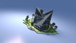 A deconstructivist house Minecraft Map & Project