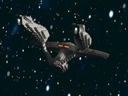 Mini USS Enterprise from Star Trek 2009/Into Darkness (1:6) Minecraft Map & Project