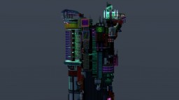 Cyber Tower Minecraft Map & Project