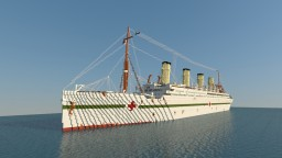HMHS Britannic 1916 Minecraft Map & Project