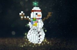 Snowman Minecraft Map & Project
