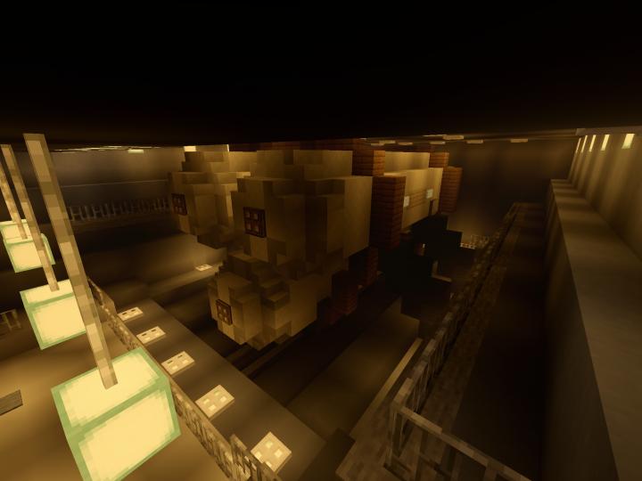 Hytholodium tanks in the cargo bay
