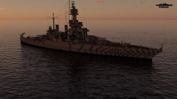 USS Maryland 1:1 Scale Minecraft Map & Project