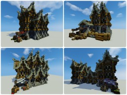 Medieval Houses Pack Minecraft Map & Project