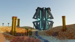 Sci-Fi Build alien idk Minecraft Map & Project