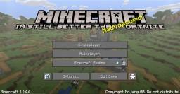 """Minecraft """"Im Still Better Than Fortnite"""" Minecraft Texture Pack"""