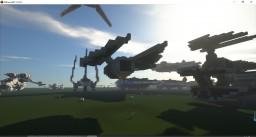 TIE striker Minecraft Map & Project