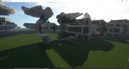 TIE interceptor Minecraft Map & Project
