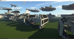 TIE Advanced x1 Minecraft Map & Project