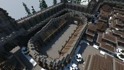 Snowy Kingdom Arena Minecraft Map & Project