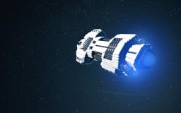 Interstellar Rescue Ship Minecraft Map & Project