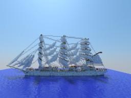 Dar Mlodziezy | Ship | Frigate Minecraft Map & Project