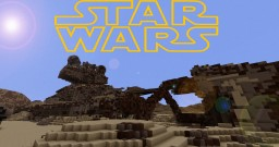 VALLEY OF THE FALLEN (And the Star Destroyers of Jakku) Minecraft Map & Project