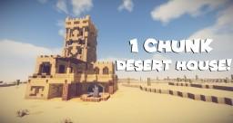 1 Chunk Desert House Minecraft Map & Project