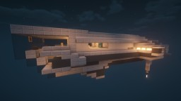 Space Craft KR-EV1 [2048] I Exploration vessel for 2 with interior Minecraft Map & Project
