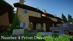 | Number 4 Privet Drive | Harry Potter | Minecraft Map & Project