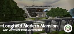 Longfield Modern Mansion [PE - MAP] Minecraft Map & Project