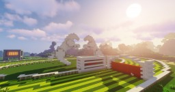 Huss Downs racecourse Minecraft Map & Project