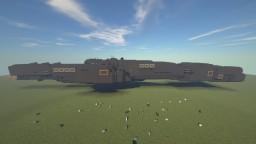 Heavy Frigate Gdansk Class Minecraft Map & Project