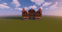 Manoir Minecraft Map & Project