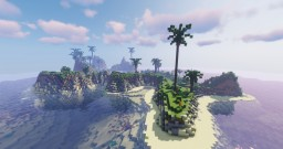 Ascension Islands - My first WorldPainter project Minecraft Map & Project