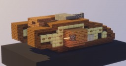 British Mark V - WW1 tank Minecraft Map & Project
