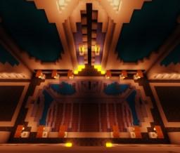 ( Mirrored Effect Floor ) Admin Underground Faction Base Minecraft Map & Project