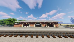 West Chadinghall Station - Countryside train station Minecraft Map & Project