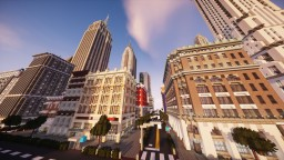 Realistic City Quarter | New Limesville City | State of New Limesville | United Citrus States Minecraft Map & Project