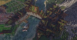 Yuitilde - The Bridge Town - A Medieval Village Minecraft Map & Project
