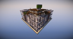 Small realistic city office apartments Minecraft Map & Project