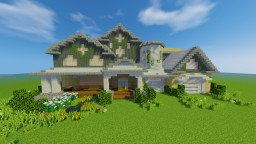 suburban mansion [the valley of talented entry] Minecraft Map & Project