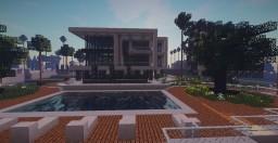 Modern Mansion Beverly Hills 3 Minecraft Map & Project
